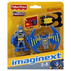 Imaginext DC Super Friends Batman Mini Figure [Blue Cape]