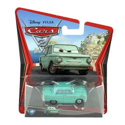 Disney Pixar Cars 2 Movie Die-Cast No. 18 Petrov Trunkov  [1:55 Scale]
