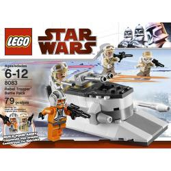 Lego Star Wars Rebel Trooper Battle Pack [No.8083 - 79 Pcs]