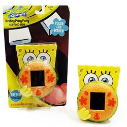SpongeBob Squarepants Krabby Patty Party LCD Video Game