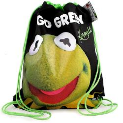 The Muppets Drawstring Shoe Bag [Kermit]