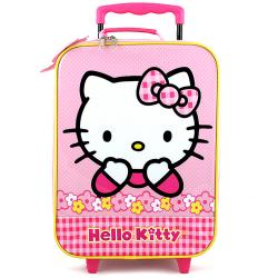 Hello Kitty Rolling Case [Flowers]