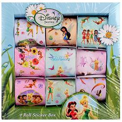 Disney Fairies Sticker Box [9 Rolls]