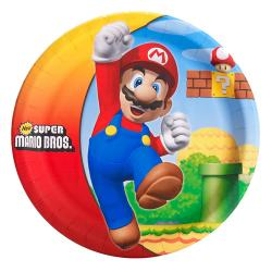 Super Mario Bros. Dinner Plates [8 Per Pack]