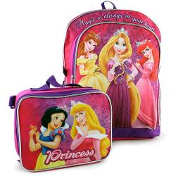 Disney Princess Backpack and Lunch Bag [Magic is Always in Your Heart]