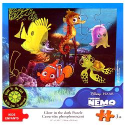 Finding Nemo Glow in the Dark Puzzle [24 Pieces]