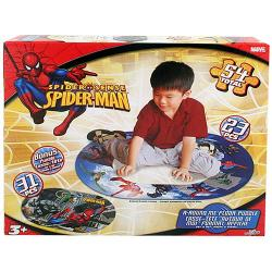 Spider-Man A-Round Me Floor Puzzle [54 Pieces]
