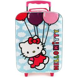 Hello Kitty Rolling Luggage Case [Balloons]
