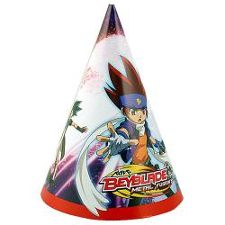 Beyblade Metal Fusion Party Hats [8 Per Pack]