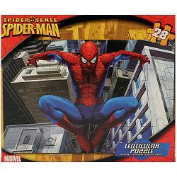 Spider-Man Lenticular Puzzle [28 Pieces - Assorted Designs]