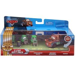 Disney Pixar Cars 3-Car Gift Pack [Chick Hicks Pitty, Bruiser Bukowski, Mater]