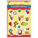 Curious George Sticker Sheets [4 Per Pack]