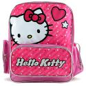 Hello Kitty Multi-Compartment Backpack [Heart]