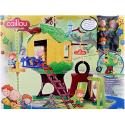 Caillou Tree House [Contains 4 figures]