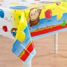 Curious George Plastic Table Cover
