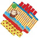 Curious George Blowouts [8 Per Pack]
