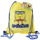 SpongeBob SquarePants Mesh Drawstring Bag