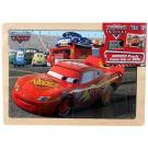 Disney Cars 12 pc Wood Puzzle