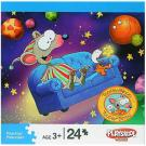 Toopy and Binoo 24-Piece Puzzle - [Flying Couch]