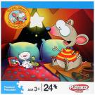 Toopy and Binoo 24-Piece Puzzle - [Camping]