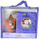 Caillou I Love: Mini-book With Strap & Rattle