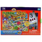 Cranium Puzzles Plus - Seek & Find - Let's Go To The City