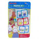 Max and Ruby Match-It! Memory Game in Tin Box