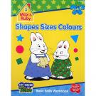 Max and Ruby 'Shapes Sizes Colors' - Pre-K Activity Book