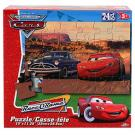 Disney Cars RaceORama 24 PCS Puzzle - [McQueen and Doc Hudson]