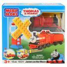 Thomas and Friends - Mega Bloks - James on the Move [Model 10511 - 16 PCS]