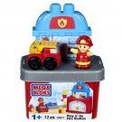 Mega Bloks Play N' Go Fire Station [Model 6601 - 12 PCS]