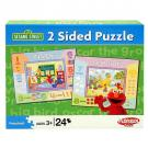 Sesame Street 2 Sided Puzzle - [Inside and Outside]