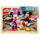 Mickey Mouse Clubhouse - Wood Picture Frame Puzzle [12 Pieces]