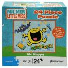 Mr. Men Little Miss 24 Piece Puzzle [Mr. Happy - Wonderful !]