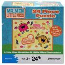 Mr. Men Little Miss 24 Piece Puzzle [Little Miss Chatterbox]