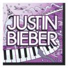 Justin Bieber Beverage Napkins [16 Per Pack]