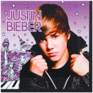 Justin Bieber Luncheon Napkins [16 Per Pack]