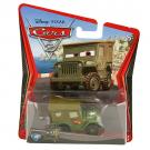 Disney Pixar Cars 2 Movie Die-Cast No. 15 - Race Team Sarge  [1:55 Scale]