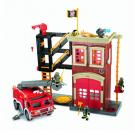 Fisher Price Imaginext Firehouse with Truck Playset