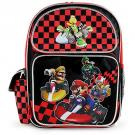 Mariokart Wii Full-Size Backpack [Black]