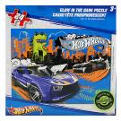 Hot Wheels Glow-in-the-Dark 24 pc. Puzzle