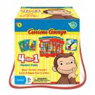 Curious George 4-in-1 Games Cube