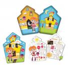 Lalaloopsy Mini Gel Sticker Playset [6 piece Bea Spells-a-lot]