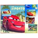 Disney Boys Wood Puzzle Box 3-Pack [Porto Corsa]