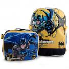 Batman Backpack and Lunch Bag Set
