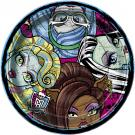 Monster High Luncheon Plates [8 Per Pack]