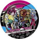 Monster High Dessert Plates [8 Per Pack]