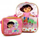 Dora the Explorer Backpack and Lunch Bag Combo