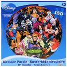 Disney Circular Puzzle [Villains - 150 PCS]