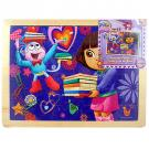 Dora the Explorer 48 piece Wood Puzzle